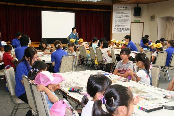 国際箸文化研究所熊本支部の指導により箸作りを開始