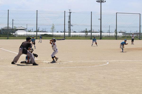 元気よくプレーを楽しみました