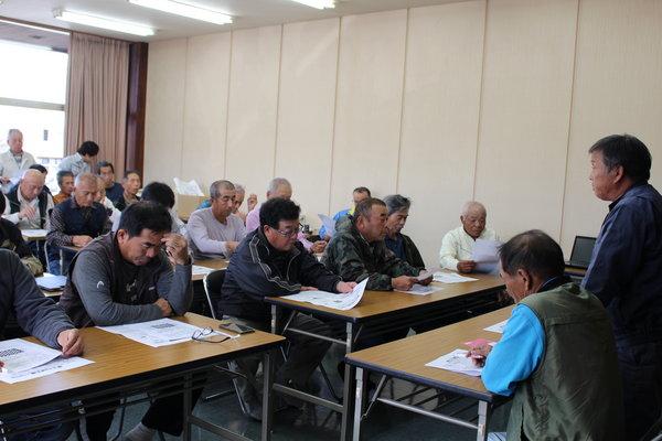 約60人が集まった講習会(東部支店にて)