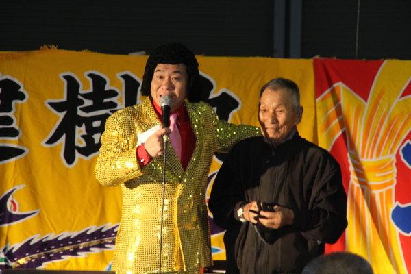 笑いがあふれた慶徳二郎さんのトークショー