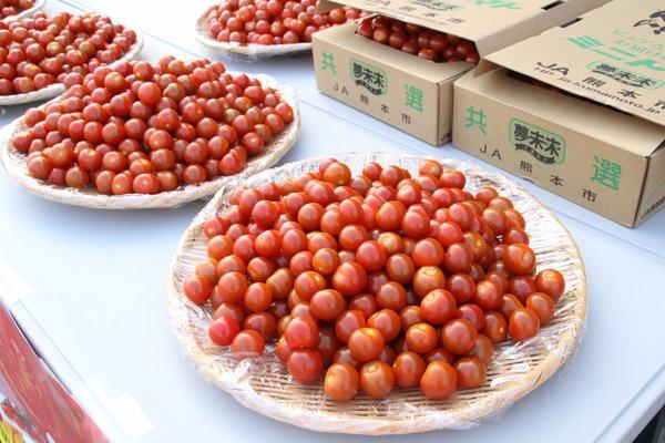 つやつやのミニトマト