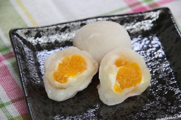 夢未来賞(菓子部門)「クリームチーズみかん大福」